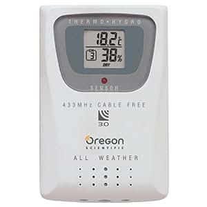 Oregon Scientific THGR800 - temperature & humidity sensors (AAA, LCD)