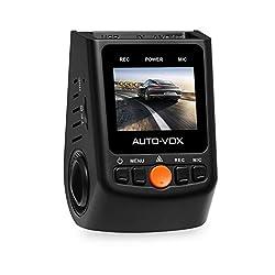 AUTO-VOX A118C/B40C Stealth Dash Cam Auto Kamera Kondensator Version versteckte DVR Videokamera Full 1080P HD kein interner Batterie 170 Superweit 6 Vollglas Winkelobjektiv hitzebeständig bis 140 °F mit G-Sensor WDR Nachtsicht Loop-Aufnahme für die meisten Europa Automodell