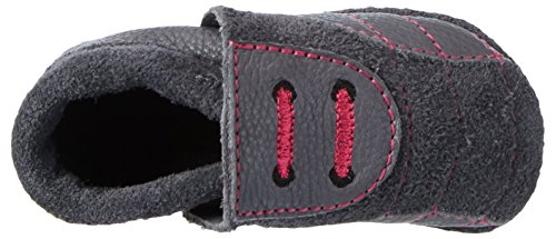 Pololo - Soccer, Pantofole Unisex – Bimbi 0-24 Grau (Grau 821)