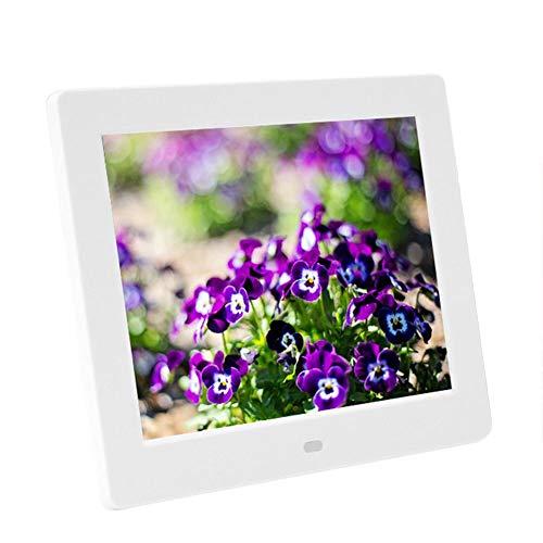 biback 7 Zoll 706 Multifunktions-Digital-Bilderrahmen hochauflösende Breitbild-LCD-MP3-Musik und 720P HD-Video -Wiedergabe mit US-Stecker
