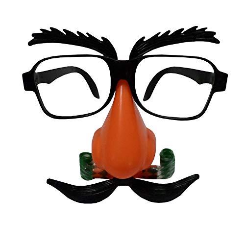 NUOKAI Gläser Blasen Drachen Maske Festival Event Party Party Lustige Requisiten Kinder ()