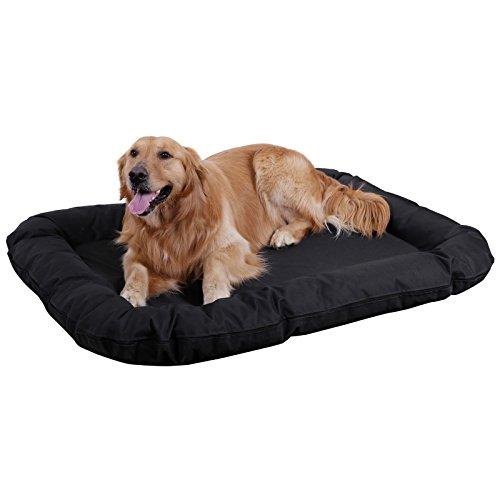Songmics Cómodo Casa para mascotas, Cama para perros Perrera (XXL:120 x 85 x 15 cm)