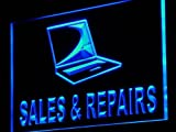 Computers Best Deals - Cartel Luminoso ADV PRO j131-b Notebook Computer Sales Repairs Neon Light Sign