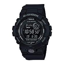 Casio G-SHOCK Orologio, Steptracker/Pedometro, Sensore di movimento, 20 BAR, Nero, Digitale, Uomo, GBD-800-1BER