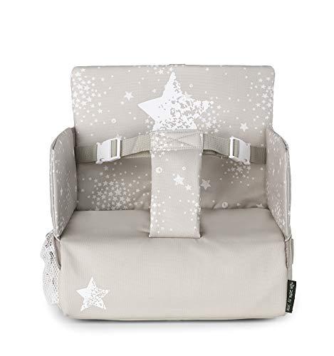 Jané borsa seggiolone alzasedia nuovo modello con protezioni laterali omologate - alzabimbo - seggiolino da tavolo (Bronze)