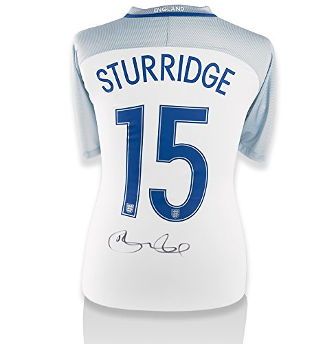 Daniel-Sturridge-Hand-Signed-201617-England-Home-Shirt-Number-15