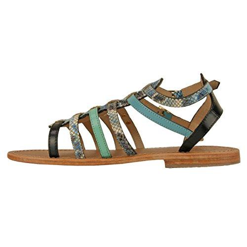 Sandalias De Mujer Les Çil Turquoise Baille - Descubrimos Normal Turquesa