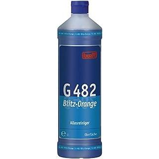 Buzil BLITZ ORANGE G482 1 Liter - Neutraler Allesreiniger mit frischem Orangenduft