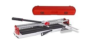 Rubi SPEED-92Magnet–Tondeuse manuelle avec valise, couleur gris