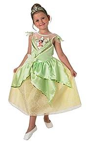 Rubies - Disfraz de la resplandeciente Tiana para niños - Talla pequeña