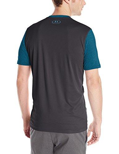 Under Armour Fitness Raid Short Sleeve Tee Herren Fitness - T-Shirts & Tanks Peacock