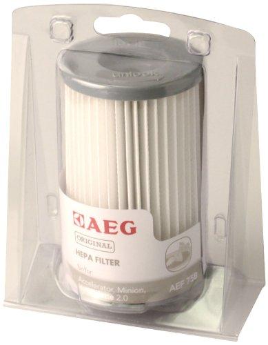 AEG AEF 75 B Hygienefilter waschbar für ACCELERATOR AAC 670..., AAC 6805...; MINION ATI 7600...7699 ; ErgoEasy ATF76..., VAMPYRETTE 2.0 AS 203