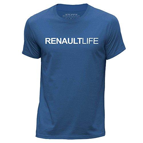 stuff4-herren-xx-gross-xxl-konigsblau-rundhals-t-shirt-auto-leben-liebe-renault