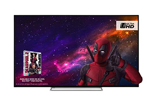 Toshiba 43U5863DB 43-Inch Smart 4K Ultra-HD HDR LED TV with Freeview Play - Black Silver  2018 Model