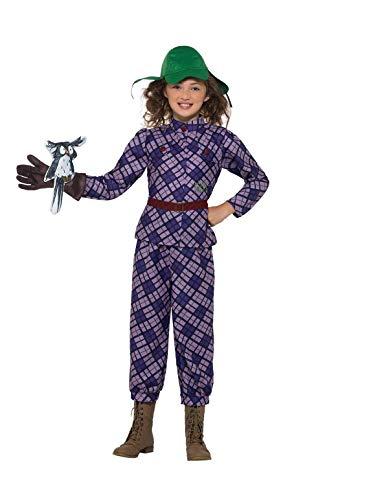 SMIFFY 'S 40200t David Walliams Deluxe Awful Aunty Kostüm, violett, Tween Größe