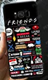 Générique Coque Samsung Galaxy S9 Friends TV Show New York Central Park Silicone Souple