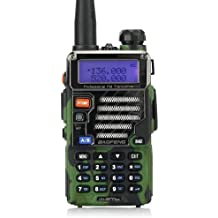 Baofeng UV 5rplus Dual Band VHF/UHF 2m/70cm de jamón Walkie Talkie