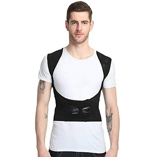 ZFF Geradehalter Rücken Bandage,Rücken Schulter Haltungskorrektur Für Damen Und Herren Verstellbar Geradehalter,groß (größe : XXXXXXL) -