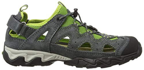 Meindl Kinder Schuhe Rudy Junior 2056 Grau/Grün 38 -