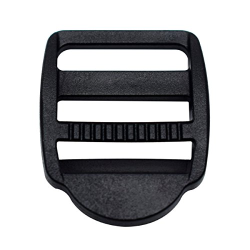Plastic buckles for backpack straps, 20 mm, 15 units