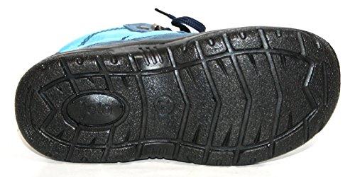 Jela Tex Kinderschuhe 61.123 Jungen Halbstiefel Stiefeletten Blau (jeans/hellblau 39)