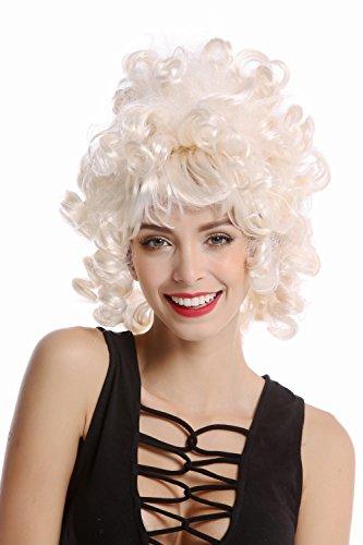 Wig me up 90960-ZA62/ZA612 Perücke Damenperücke Karneval Halloween Barock Rokoko Edelfrau Kurz...