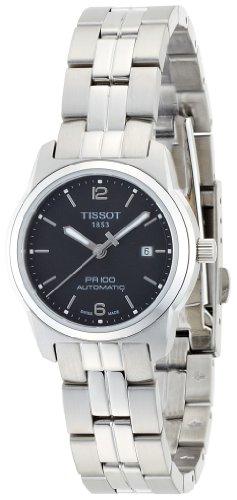 Tissot T0493071105700 – Reloj analógico de mujer de cuarzo con correa de acero inoxidable plateada