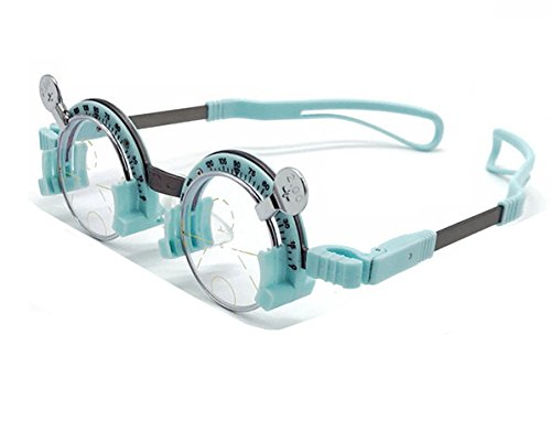 CGOLDENWALL Pure Titanium Trial Frame Optisch Trial Lens Frame Eye Optometrie Optician Fixed PD Half Frame Asymptotisch Multi Focus