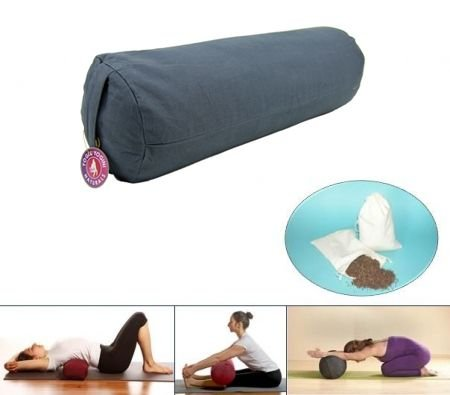 Yoga Bolster rond Anthracite