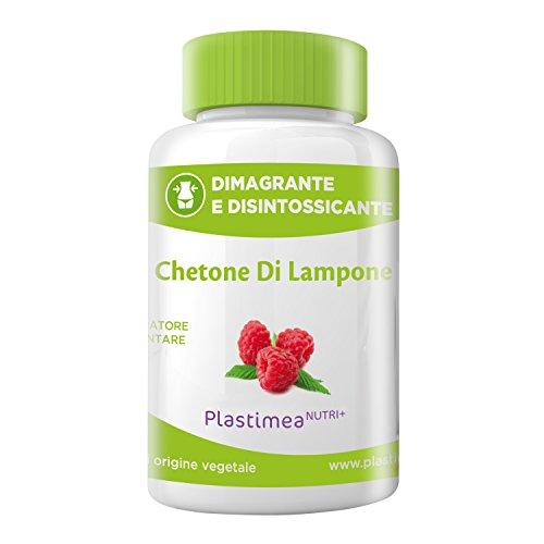 CHETONE DI LAMPONE EXTRA FORTE! 60 capsule 100% naturali e vegetali, dimagranti e disintossicanti al sapore di lampone. Prodotto fabbricato in Francia. Capsule 100% vegetali