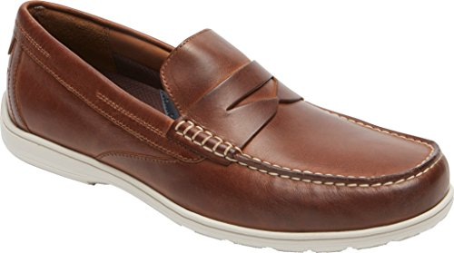 Rockport - Chaussures Tm Loafer Penny pour homme Tan Leather