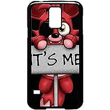 FNAF peluche Foxy Funda de plástico/Color Negro/dispositivo Samsung Galaxy S5
