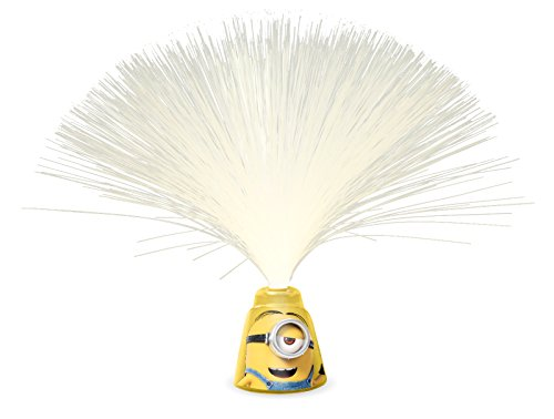 Image of Spearmark Minions Fibre Optic Reflector Lamp, Yellow