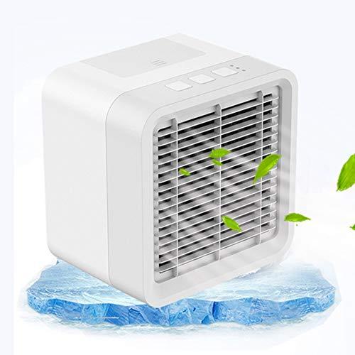 Cossll498 Tragbarer USB wiederaufladbare Kühlluftlüfter Kühler Luftbefeuchter Home Office Purifier -