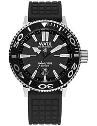 9ae4f0ef7266 Watx scafandro Reloj para Mujer Analógico de Cuarzo con Brazalete de Goma  RWA0320