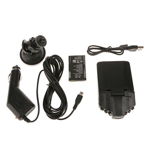 2.5 ''full HD 720p Auto Dash DVR Kamera Überwachung Videorecorder Nocken Nachtsicht (Video-kamera-auto-halterung)