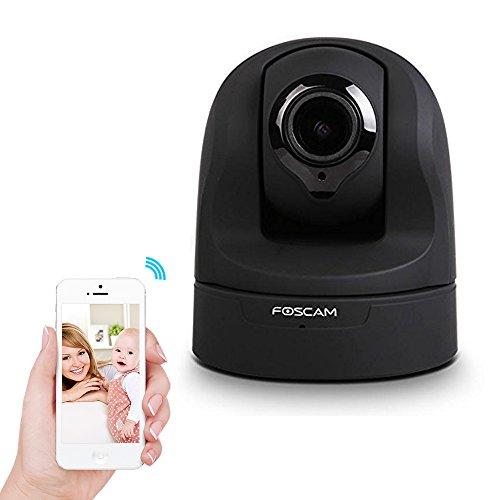 Foscam FI9826P 1.3 Megapixel, 960P Full HD, Pan/Tilt/Zoom Wireless kabellose IP Kamera mit 3x Optischem Zoom und Plug & Play