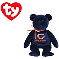 Ty Beanie Baby Chicago Bears Football Bear by Ty