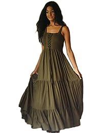 LOTUSTRADERS Damen Boho Style Kleid