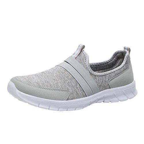 Schuhe Damen Sneaker Flache Stiefel Freizeitschuhe Fitnessschuhe Sport DOLDOA