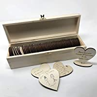 Wedding Guestbook Hearts and Box alternative to drop box