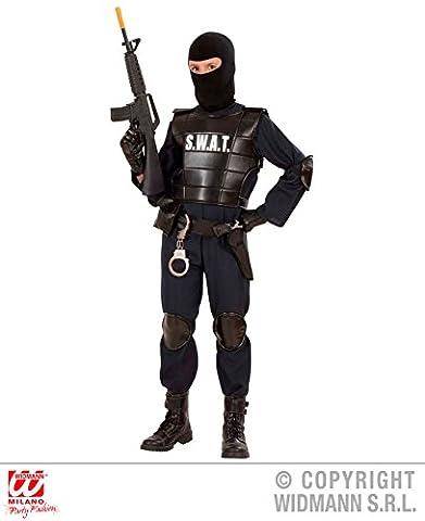 KINDERKOSTÜM - S.W.A.T. AGENT - Größe 140 cm , Uniformen CIA FBI Spezialeinheiten Spezial (Fbi-kostüm Für Jungen)