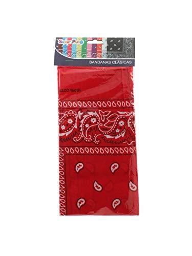 DISBACANAL Pañuelo para Vaquero - Rojo
