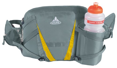 VAUDE Marsupio portaborraccia Big Waterboy, Grigio (Shadow), 23 x 32 x 8 cm