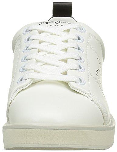 Pepe Jeans Sofia Plain, Baskets Basses Femme Blanc (800White)