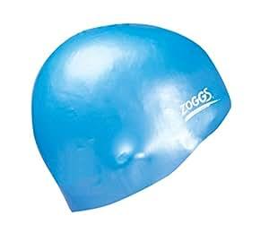 Zoggs Easy-Fit Silicone Swim Cap - Blue