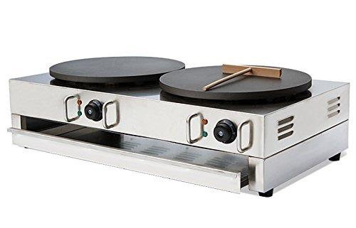 hanchen Instrument np-594two-plate kaufmännischer Crepe Maker/Elektrischer Pancake Maker 110V/220V