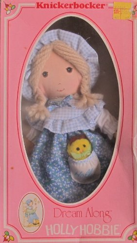 knickerbocker-dream-along-holly-hobbie-9-rag-doll-w-pet-1980-knickerbocker-by-knickerbocker-dream-al