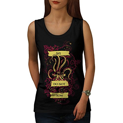 we-do-not-sow-ghost-squid-beast-women-new-black-m-tank-top-wellcoda
