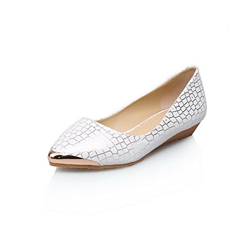 odomolor-womens-pu-assorted-color-pull-on-pointed-closed-toe-low-heels-pumps-shoes-white-38